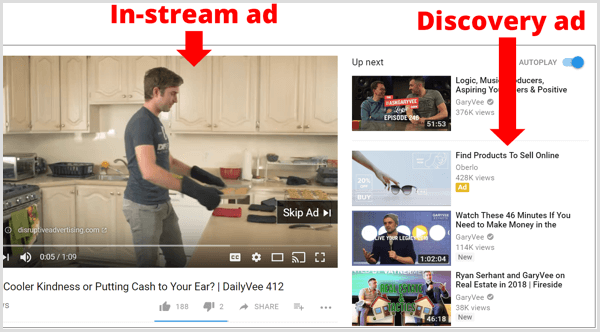 google-adwords-instream-vs-discovery-ad-on-youtube-1