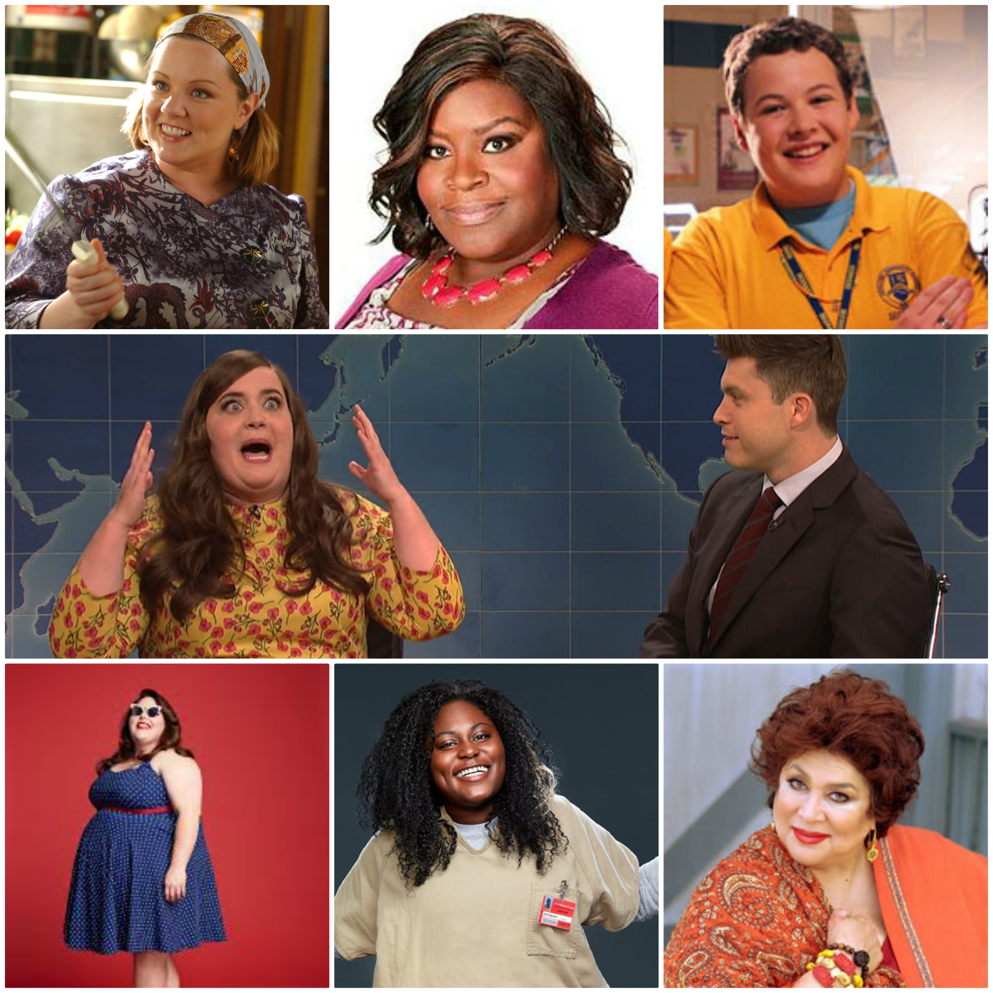 7 Plus Size TV Characters That Changed the Game – Penny Darling